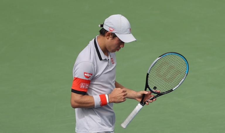 Nishikori comete 4 (!) erros em três sets e marca duelo com Goffin no Dubai