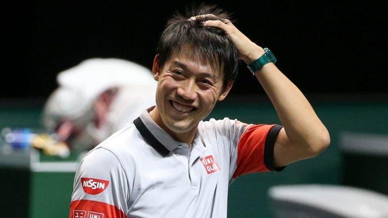 Nishikori com ideias bem definidas: «Quero voltar ao top 10, quem sabe… ao top 5»