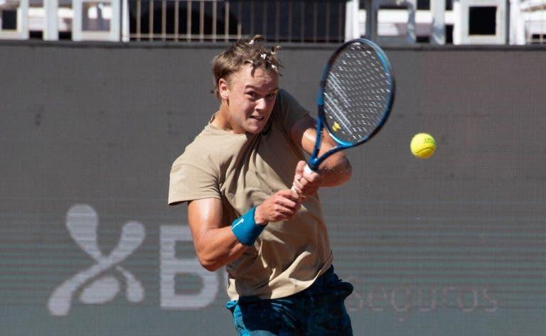 Já joga como gente grande: aos 17 anos, Rune alcança primeira vitória em quadros principais ATP da carreira