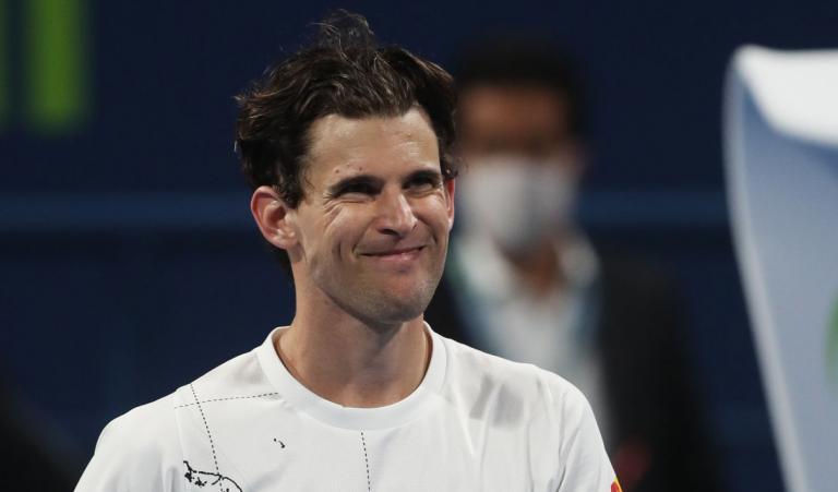 Thiem após perder batalha em Doha: «Estou muito satisfeito»