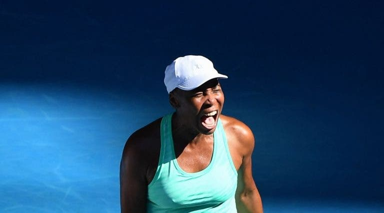 Venus Williams e duas jovens de 16 anos eliminadas à primeira em Miami