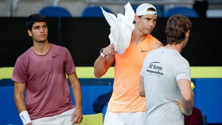 O incrível quadro do ATP 1000 de Madrid com um possível Nadal vs Alcaraz… na 2.ª ronda