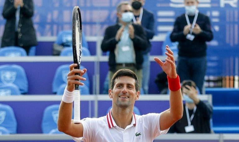 Djokovic e a sua estreia em Belgrado: «Foi quase perfeito»