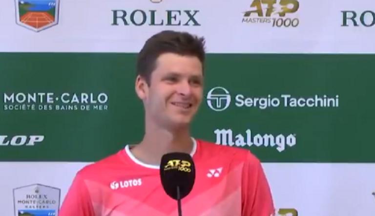 [VÍDEO] Após ganhar um Masters 1000, Hurkacz não teve perguntas na conferência de imprensa