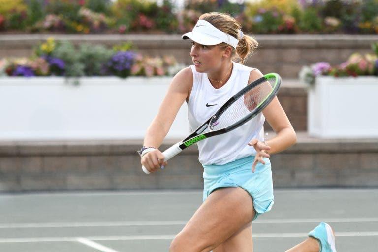 Linda Fruhvirtová alcança primeira vitória WTA… aos 15 anos