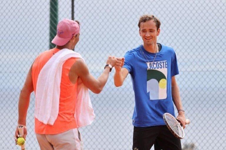 Nadal e a Covid-19 de Medvedev: «Nunca estive perto dele, só treinámos juntos»