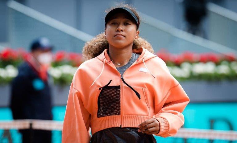 Sem tratamento especial, Naomi Osaka pode nem sequer viajar para Wimbledon