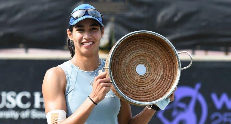 Sharma derrota Jabeur e conquista o primeiro título da carreira em Charleston