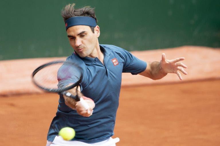 Federer regressa à terra batida com derrota e diz adeus na estreia em Genebra