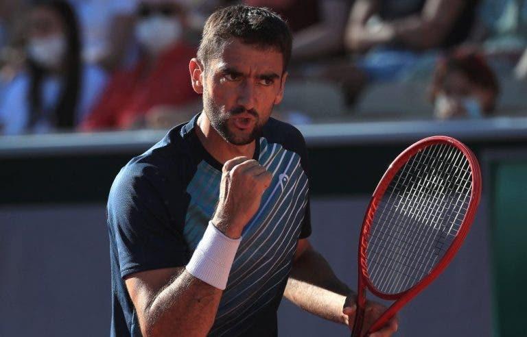 Duelo de luxo: Cilic vence na estreia e enfrenta Federer na segunda ronda de Roland Garros