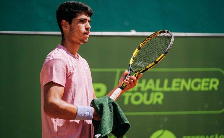 Alcaraz encantado com Portugal: «É um torneio digno para jogar e preparar Roland Garros»
