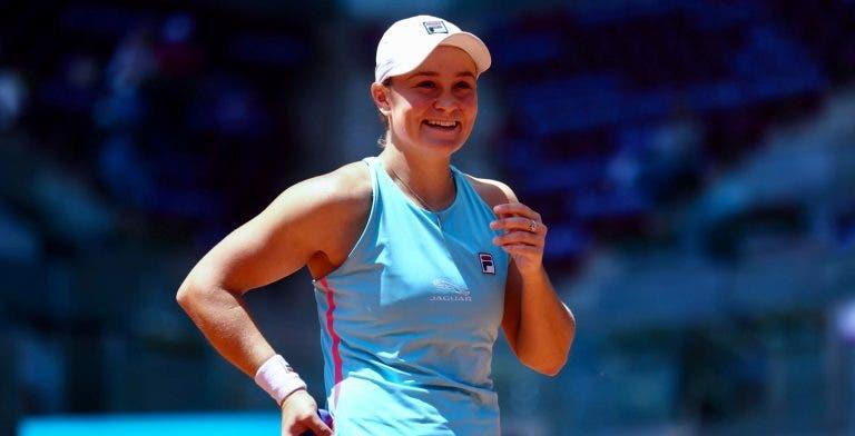 'Barty Party' continua! Ash avança para as 'meias' de Madrid à custa de Kvitova