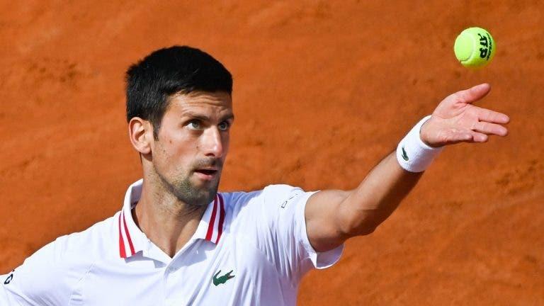 Djokovic atento ao rival: «Aprendo sempre alguma coisa a ver Nadal jogar em terra»