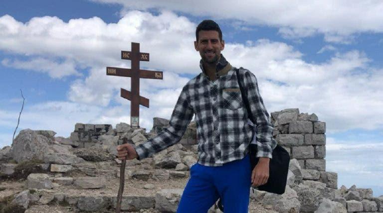 Djokovic trocou Masters 1000 de Madrid por… subida a montanha