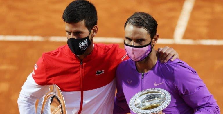 Djokovic: «Eu, o Rafa e o Roger somos a NextGen»