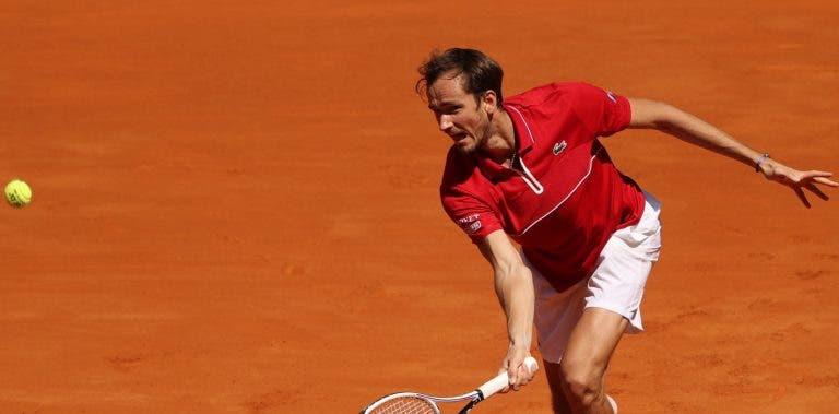 Medvedev confiante para Roland Garros: «É como se não estivesse em terra batida»