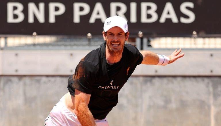 Andy Murray volta à ação em relva… mas no Challenger de Nottingham