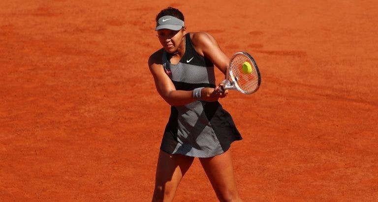 Osaka entra com vitória e Kerber é eliminada em Roland Garros
