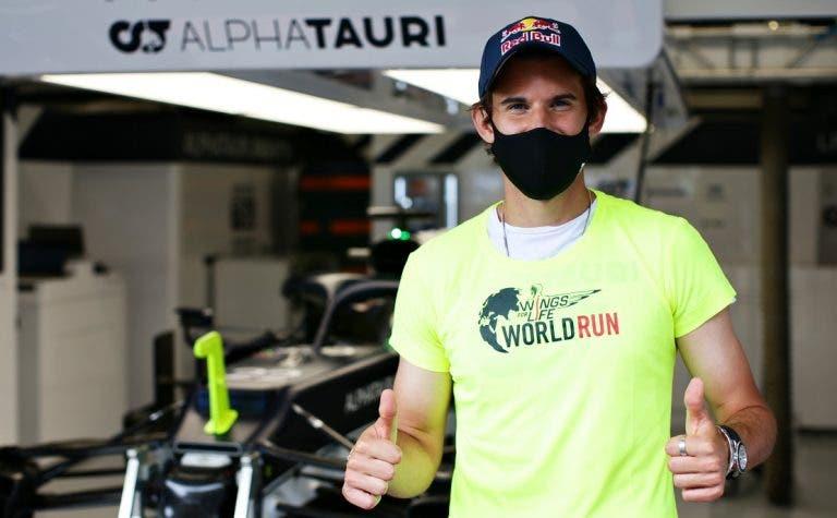 Thiem foi de Madrid para Barcelona ver a Fórmula 1