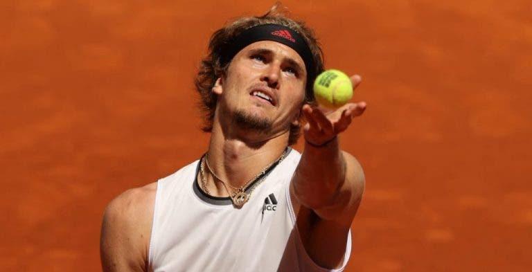 Zverev elege os três principais favoritos na luta pelo troféu em Roland Garros