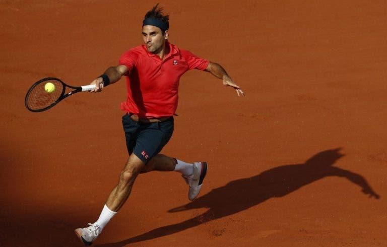 Federer garante: «As condições são mais rápidas que muitos torneios de hard court»