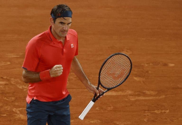 Consegue adivinhar qual foi? Federer revela a pancada mais importante da carreira