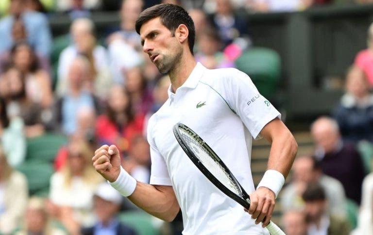Djokovic despacha Anderson na reedição da final de 2018 e passeia rumo à 3.ª ronda de Wimbledon