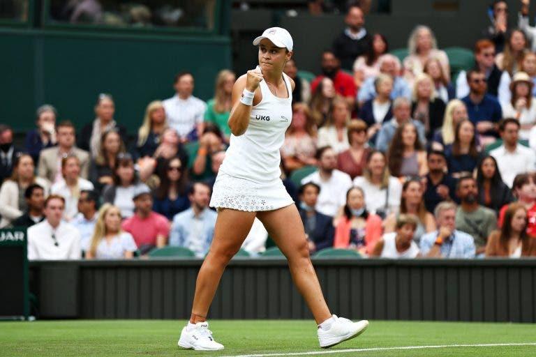 Barty e Krejcikova, as duas melhores jogadoras de 2021, defrontam-se… nos oitavos-de-final em Wimbledon