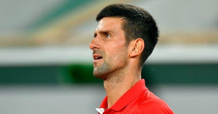 Djokovic e o episódio entre Murray e Tsitsipas: «Devia haver um limite»