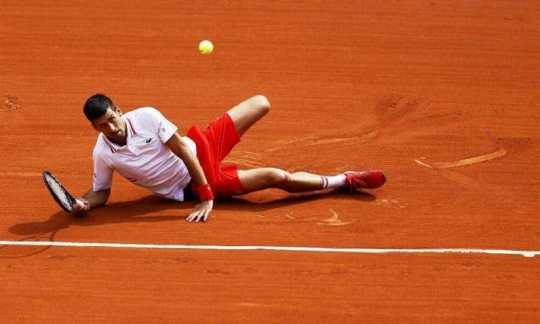 [VÍDEO] Como a 'dança' de Djokovic deixa até Andy Roddick de queixo caído