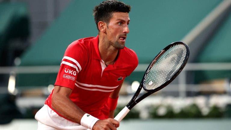 Surpresa: Djokovic inscreve-se em Maiorca para jogar pares na semana antes de Wimbledon
