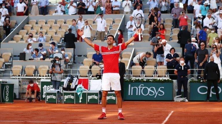 [VÍDEO] O momento em que Djokovic venceu Roland Garros pela segunda vez
