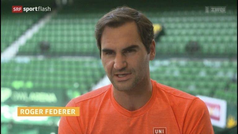 Federer confiante: «É engraçado eu sentir-me confortável na relva tão rapidamente»