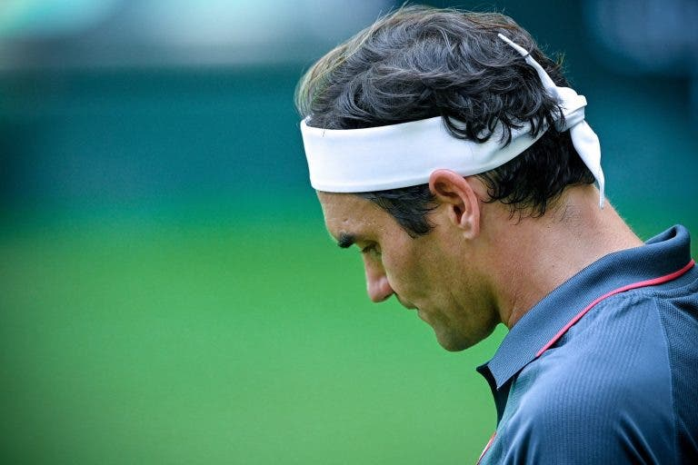 Federer nunca tinha enfrentado tantos break points num encontro à melhor de três em relva