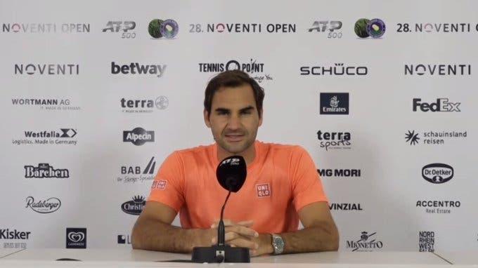 Federer: «Tenho um bom pressentimento sobre as minhas chances em Wimbledon»