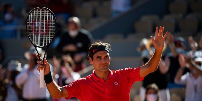 Roger Federer joga já esta segunda-feira em Halle