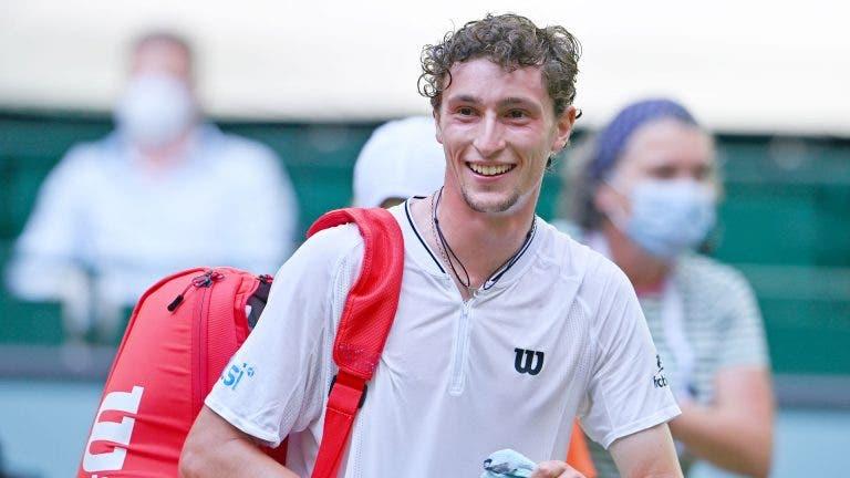 Humbert bate Auger-Aliassime e joga em Halle a final mais importante da carreira