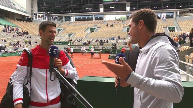 Mischa Zverev admite ter feito coaching ao irmão enquanto 'trabalhava' em court para o Eurosport