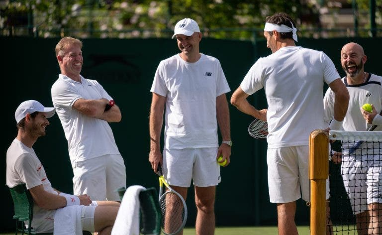 Murray goza com Federer por causa da seleção suíça de futebol