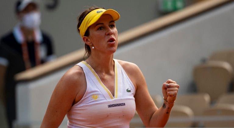 A incrível força de Pavlyuchenkova: «Vontade de ganhar superou o medo e a dor em Paris»