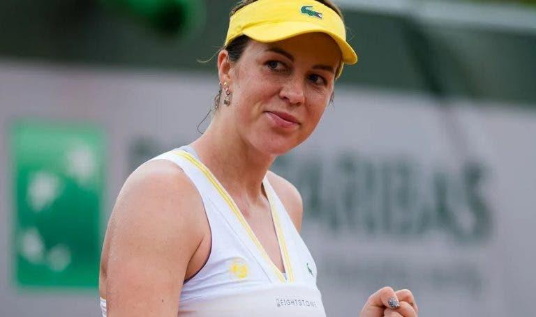 Pavlyuchenkova quebra o enguiço e estreia-se em meias-finais de Majors