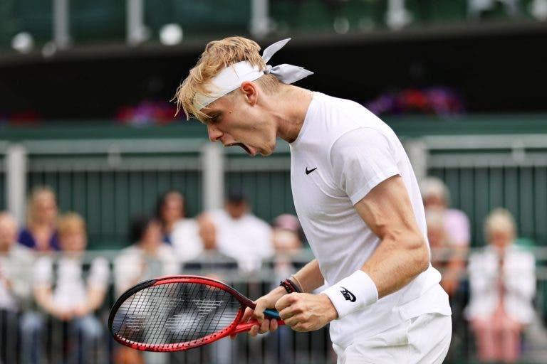 Shapovalov resiste a enorme batalha de cinco sets e escapa à razia da NextGen em Wimbledon