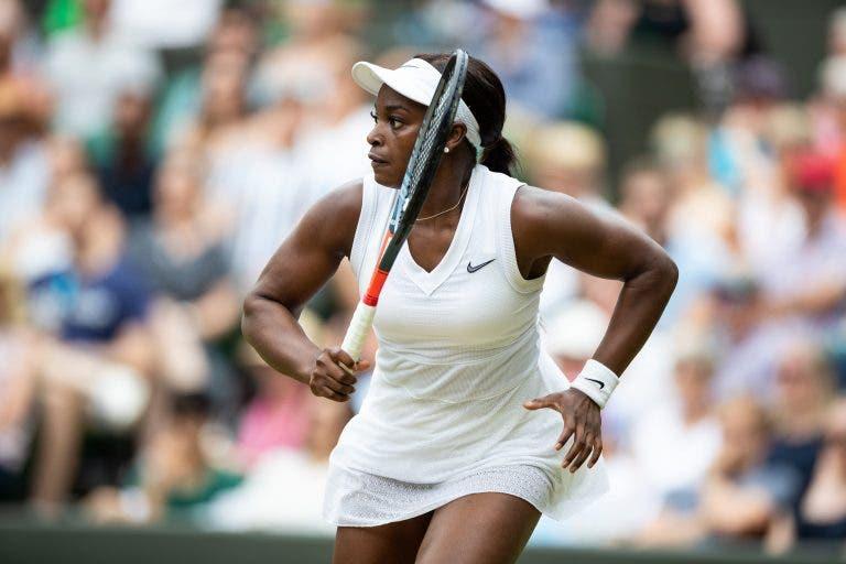 Revolta americana! Bicampeã Kvitova cai aos pés de Stephens à primeira em Wimbledon