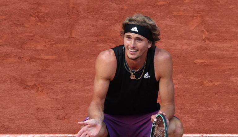 Alexander Zverev arrasa mais um rival rumo às meias-finais de Roland Garros pela primeira vez