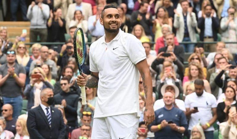 Kyrgios ansioso pelos pares mistos: «A Venus nunca pensou jogar com o bad boy do ténis»