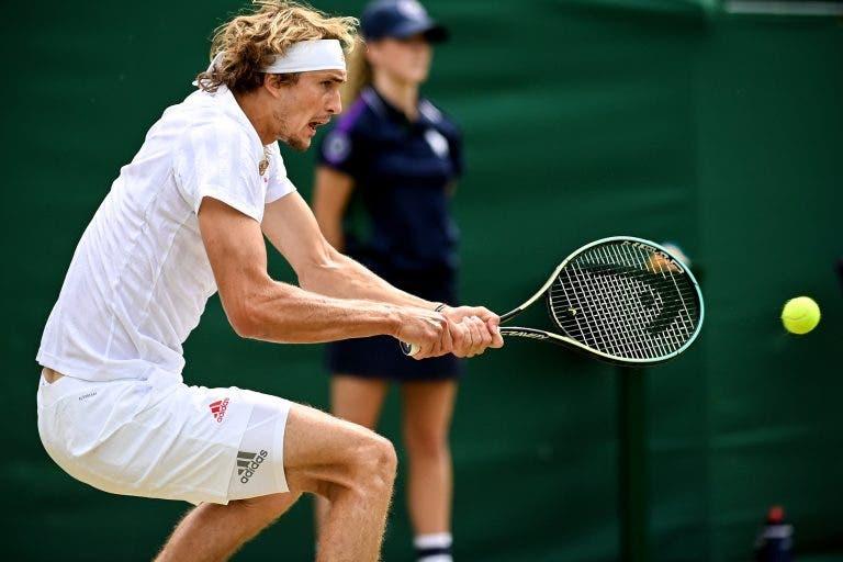 Zverev continua em grande forma e ultrapassa Fritz após bela batalha rumo aos 'oitavos' de Wimbledon