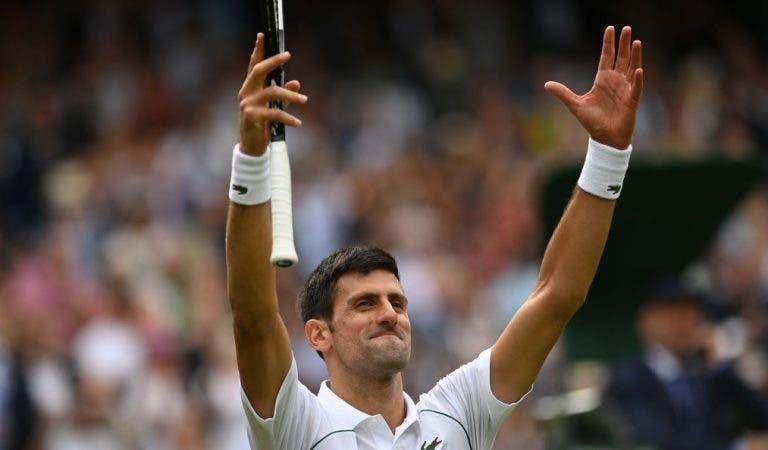 Djokovic não esconde: «Espero que o público esteja do meu lado na final»
