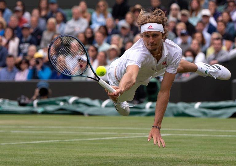 Zverev e a eliminação de Wimbledon: «Esta derrota não me chateia nada»