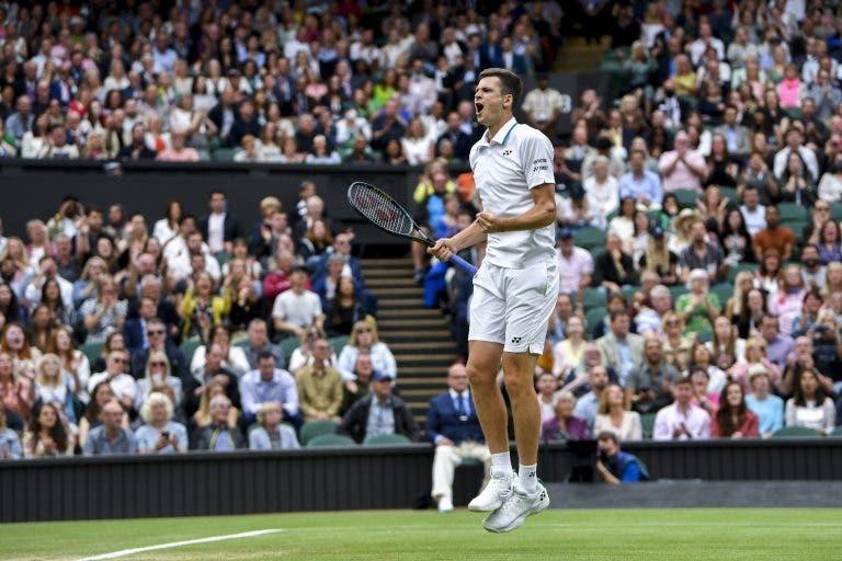 Hurkacz e o duelo frente ao ídolo Federer: «Não vou ficar nervoso por jogar contra ele»