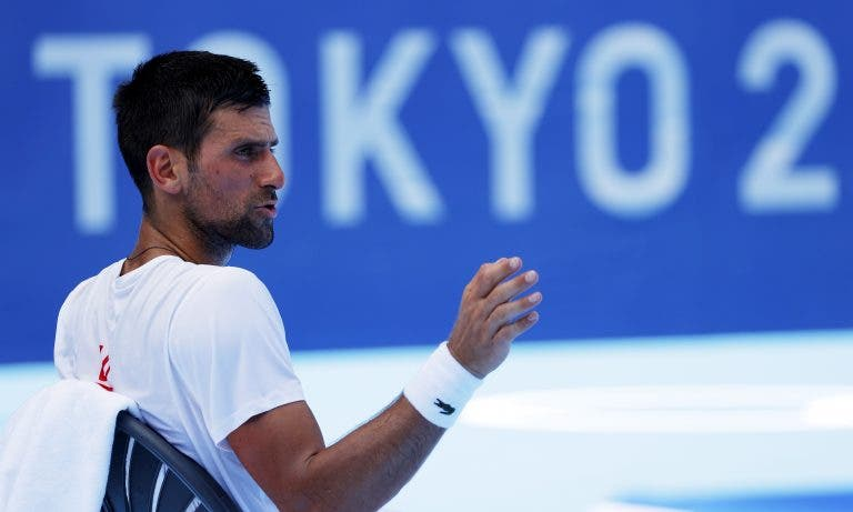 Djokovic em dose dupla e medalhas à vista: eis mais uma ordem de jogos simplesmente brutal